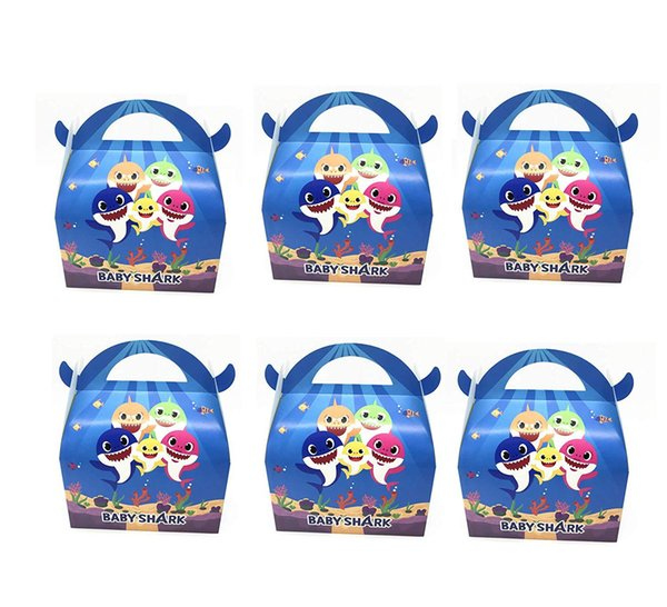 6 piece bag baby hark candy box children halloween party decortation upplie cute ox horn candy box fe tival toy l196