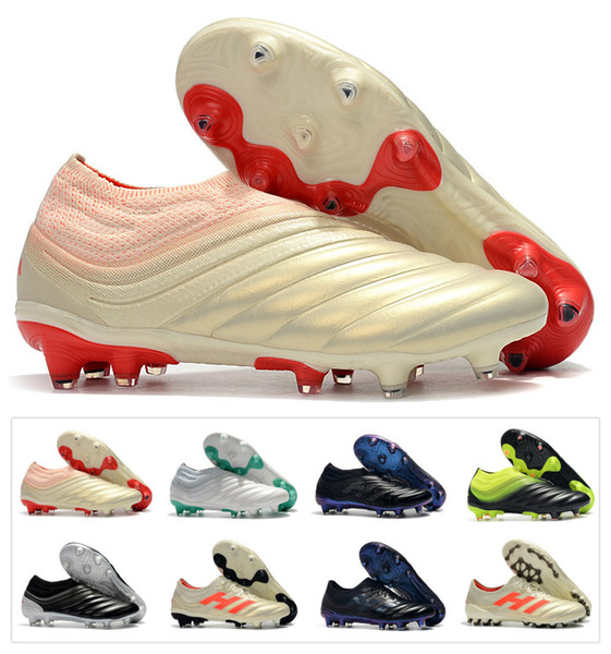2019 new men copa 19 19 1 fg ag 19 x 19 lip on champagne olar red occer football hoe boot carpe calcio cleat ize 39 45