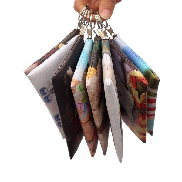 new cartoon 3d dogs coins purses women mini wallet girl wallet bag ladies zipper coin purses children's pouch small thin wallets (530266534) photo