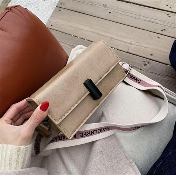 Стильная универсальная винтажная квадратная сумка дизайнерская сумка через плечо Cross Body PH-CFY2003192 фото