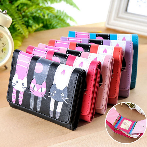 women short coin purse young fashion purse wallet cartoons wallet (485811385) photo