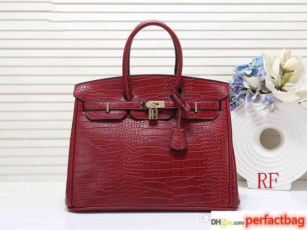 designer handbags 30cm 35cm crocodile pattern women designer bags fashion tote purse bag women designer handbags (512161888) photo