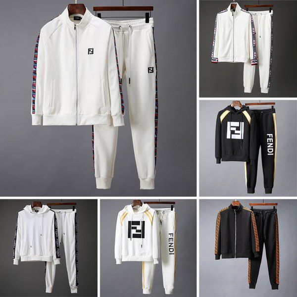 2019 new famou brand de igner men track uit autumn winter men 039 track uit letter print embroidery ca ual men port jogger uit