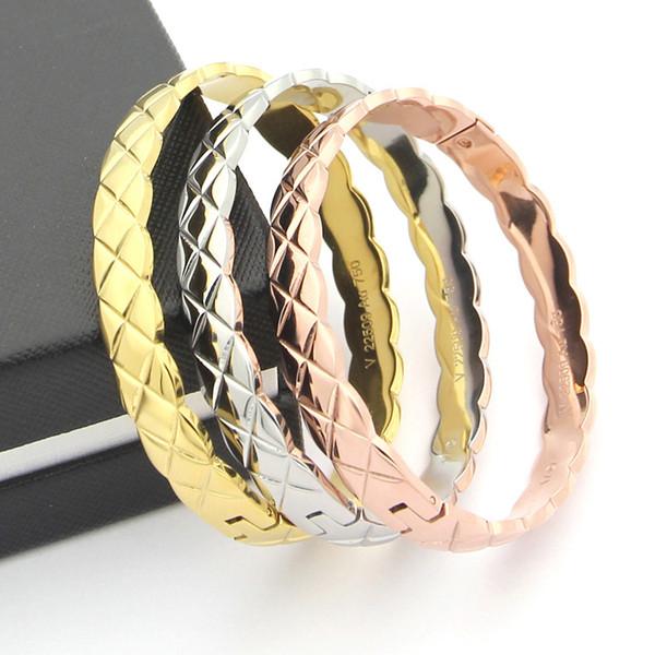 2020 bangles bracelets stainless steel bracelets bracelets for women men couple cool jewelry wholesale фото