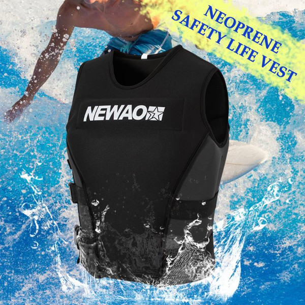 new adults life jacket neoprene safety life vest for water ski wakeboard swimming jackets zwemvest kinderen puddle jumper