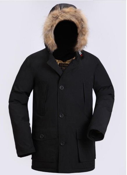 2019 late t fa hion woolrich brand men 039 arctic anorak down jacket man winter goo e down jacket 90 outdoor thick parka coat warm outw