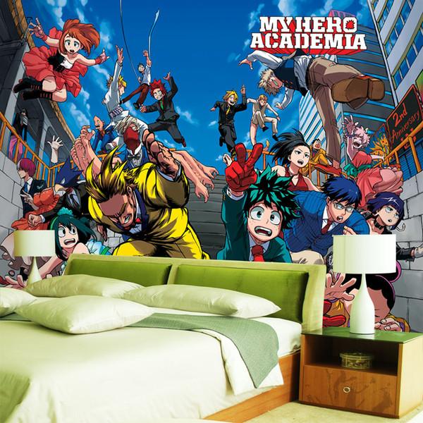 Мой герой Академия обои японское аниме 3d обои детская спальня обои фреска рулоны фото