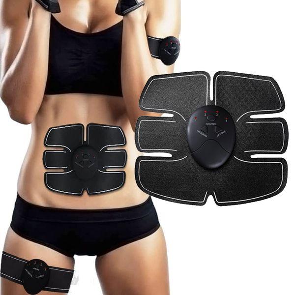 USB зарядка EMS мышц тренажер рукоятки брюшной стимулятор мышц потеря веса для похудения тренажер для мышц тела Упражнения фото