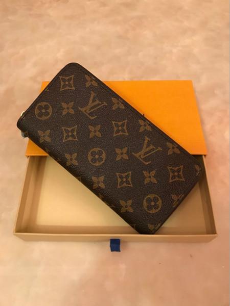 Women long leather clutch pur e handbag wallet women wallet 60017 60016