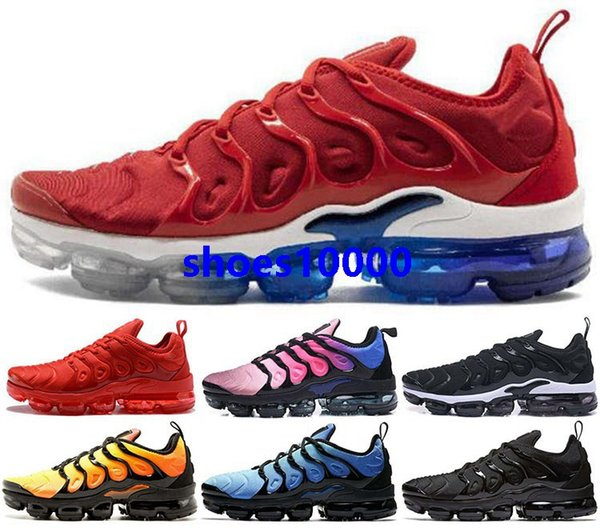 2020 air cushion Vapors tn plus Running Sneakers Men Shoes max Trainers eur 46 47 Athletic women Mens size us 5 12 13 tns Outdoor Youth boys