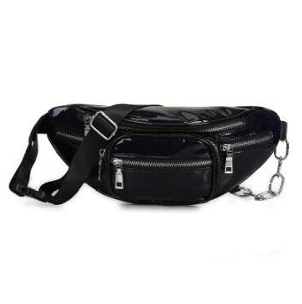2020 new fashion crossbody bag laser shoulder bags wholesale handbags purses wholesale women waist bag pu (546346272) photo