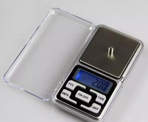 2020 Mini Electronic Pocket Scale 200g 0.01g Jewelry Diamond Scales Bake Kitchen Tools Balance Scale LCD Display with Retail Package