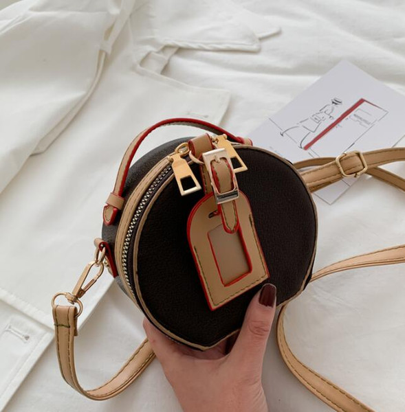 2020 womens luxury designer purses handbags women mini shoulder bags small round crossbody bag girl joker bags (539004220) photo