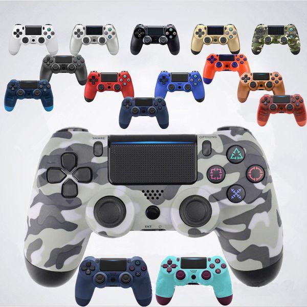 Bluetooth controller p 4 gamepad play tation 3 5mm trr 4 joy tick wirele con ole for p 3 dual hock controller 80ma