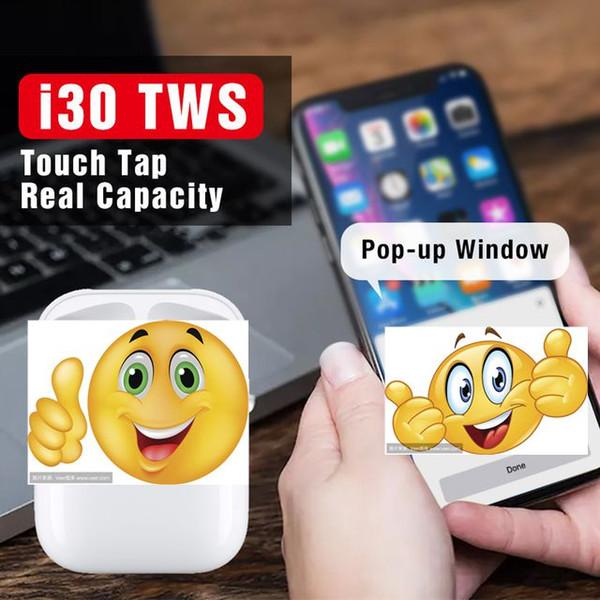 Air pod  i30 tw  bluetooth earbud  wirele   earphone  aire1 aire 1 i80 i200 lk te9 pk w1 chip i60 i10 i12 i20 tw