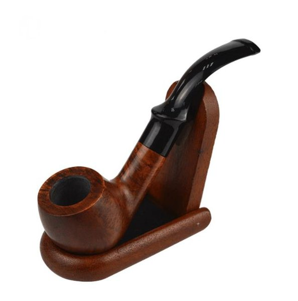 New Flame-pattern Handmade Pipe Imported Photinia can Clean Tobacco Nozzle, Tobacco Box Fittings Factory Wholesale