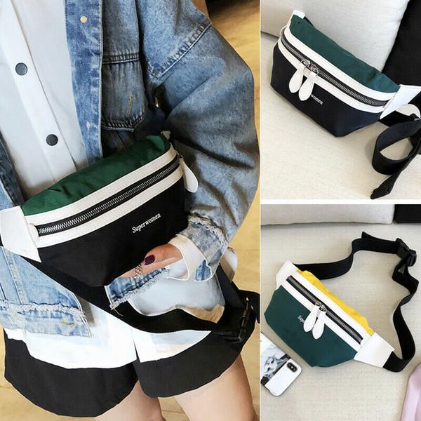 outdoor waist fanny pack belt bag pouch travel sport hip purse men women back (492854895) photo