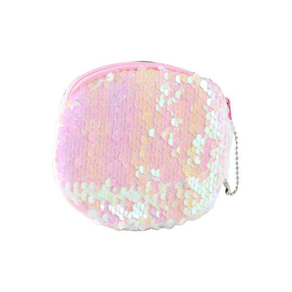 fashion girls sequins coin purse wallet cute fruit pattern girl zipper coin earphone package handbag purse bags (510190950) photo