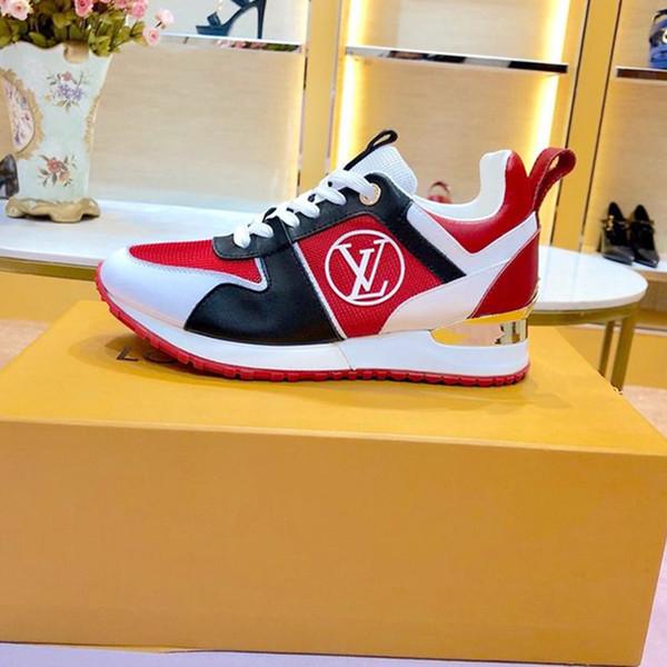Женская обувь на шнуровке дышащий цифровой эксклюзивный Run Away кроссовки Chaussures de sp