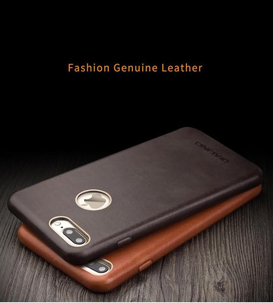 B18 ultra lim ca e for iphone 7 plu de ign calf kin phone cover leather back ca e cover