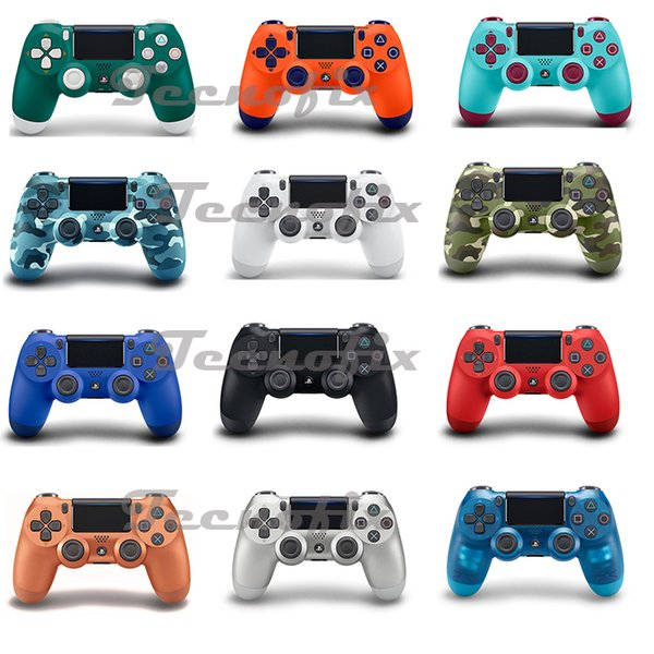For play tation®4 dual hock®4 wirele controller gamepad joy tick double hock with retal packaging