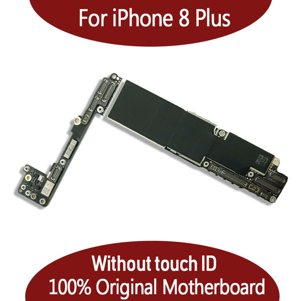 64gb 256gb original motherboard for iphone 8 plu  5 5inch without fingerprint without touch id io  logic board  hipping