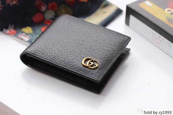 classic luxury men s purse short clip mb artisan craft designer case mt business card holder m b wallets (553840541) photo