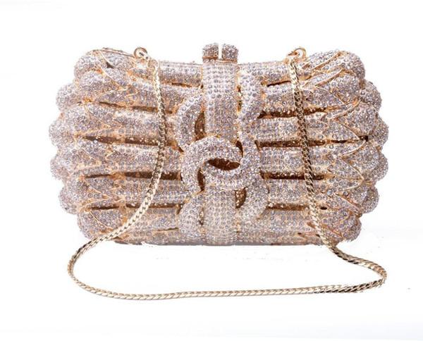 xiyuan crystal diamond clutches new design small evening bags purses wedding clutch purse evening handbags clutches shoulder bag (548478956) photo