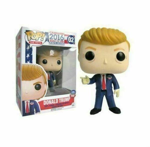 Funko Поп Дональд Трамп президент кампании 2016 # 02 Дональд Трамп POP игрушки куклы фото