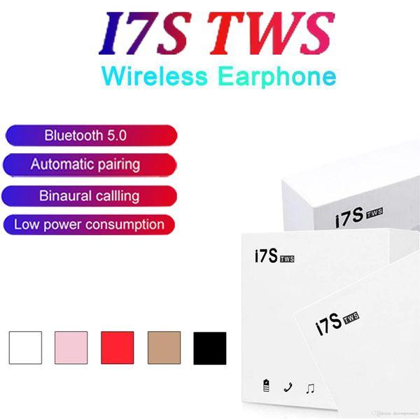 Беспроводные Bluetooth Наушники I7 i7s TWS Twins Earbuds Беспроводная гарнитура наушники с микр фото
