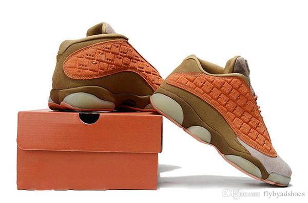 CLOT x 13 Низкие баскетбольные кроссовки мужские Gold Jumpman спортивная обувь Chicago Athletic кроссовки женские дизайнерские туфли размер 36-47