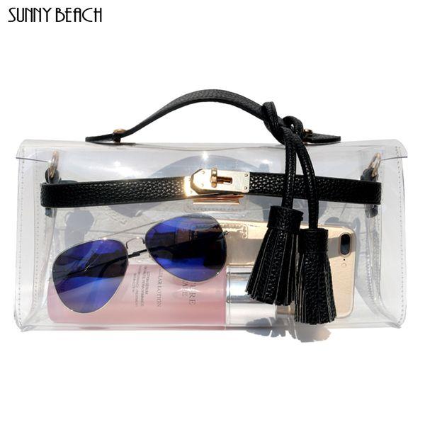 sunny beach women luxury handbags women bags designer purse clear women bag day clutch purse female messenger bag (521057023) photo