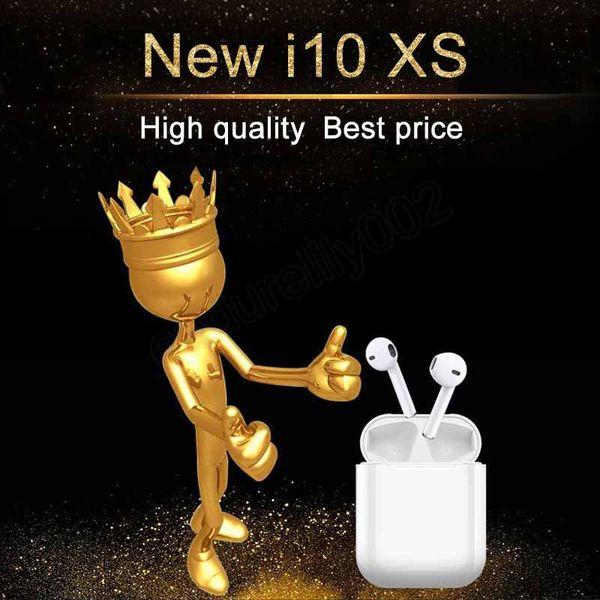 Genuine i10 XS MAX Air Pods TWS Wireless Bluetooth super bass stereo Earbud for samsung ear pods xiaomi airdots meizu pop flypod