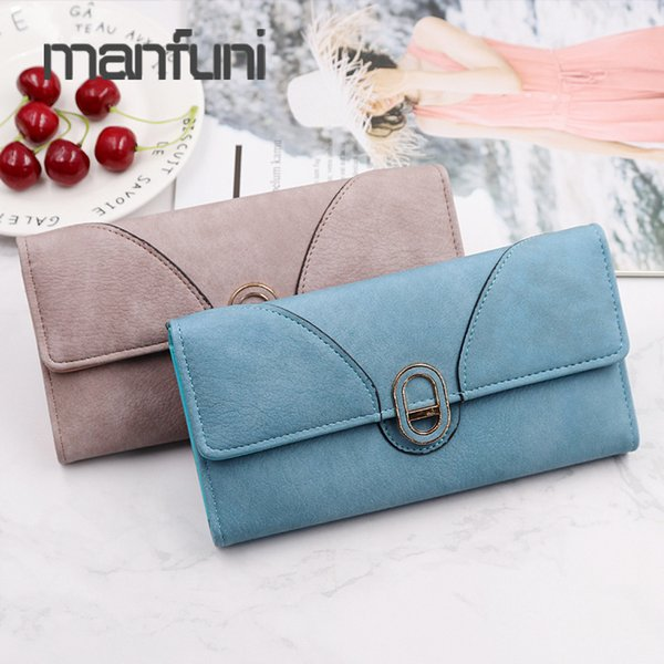 ladies wallets leather long purse clutch wallet famous woman billetera mujer card holder money bag hasp wallet coin purse women (483587092) photo