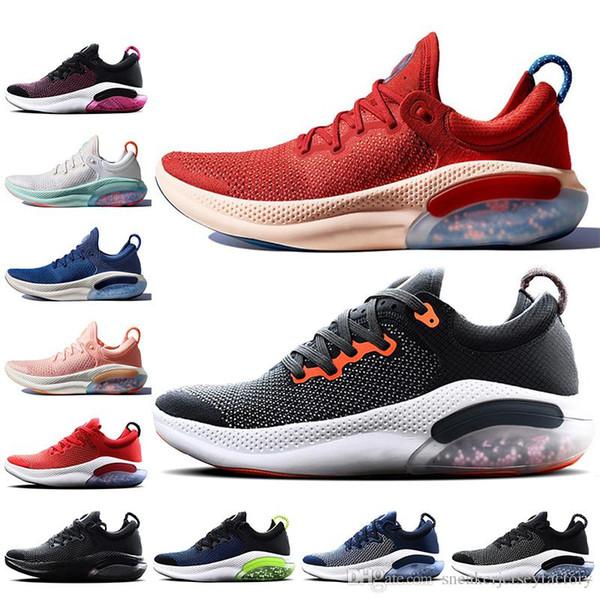 Новая Joyride Run FK вяжут кроссовки для мужчин университета Красного Белого Парус Тройных черные отбеленной Coral Joyride обувь мужских кроссовок Трейнеров фото