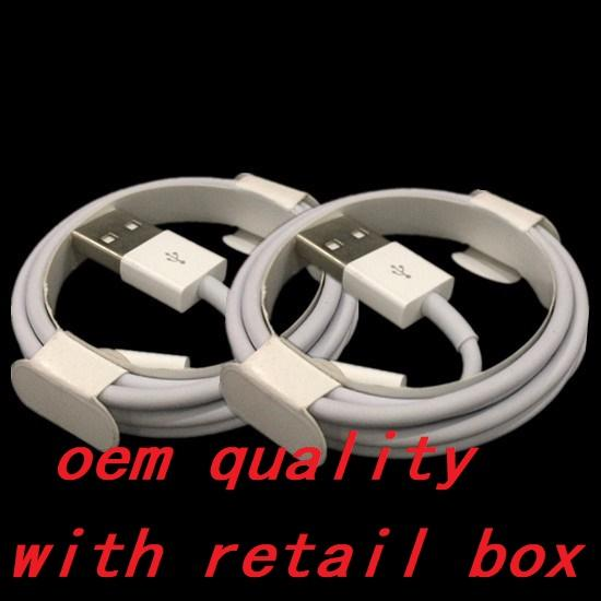Micro u b charger cable oem quality 1m 3ft 2m 6ft ync data cable cord with original retail box for phone am ung 6 7 8 9 note 4 5 6 7