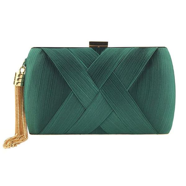 women fashion tassel clutches evening bags handbags wedding purse (528899125) photo