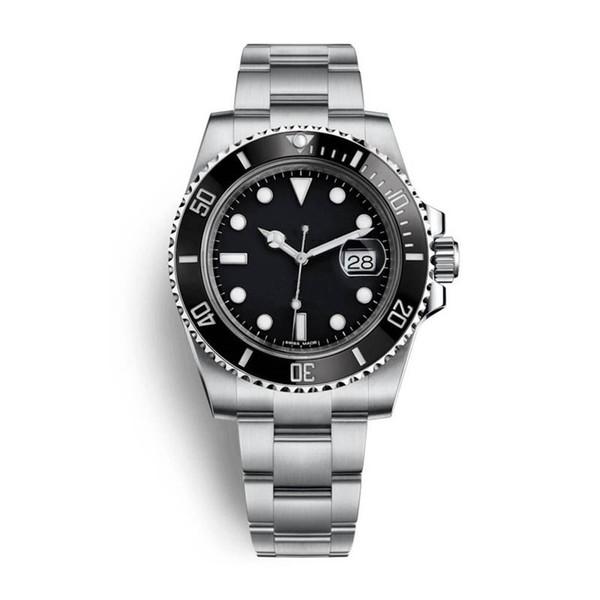Высокое качество мужские женские роскошные часы керамический безель твердый нер