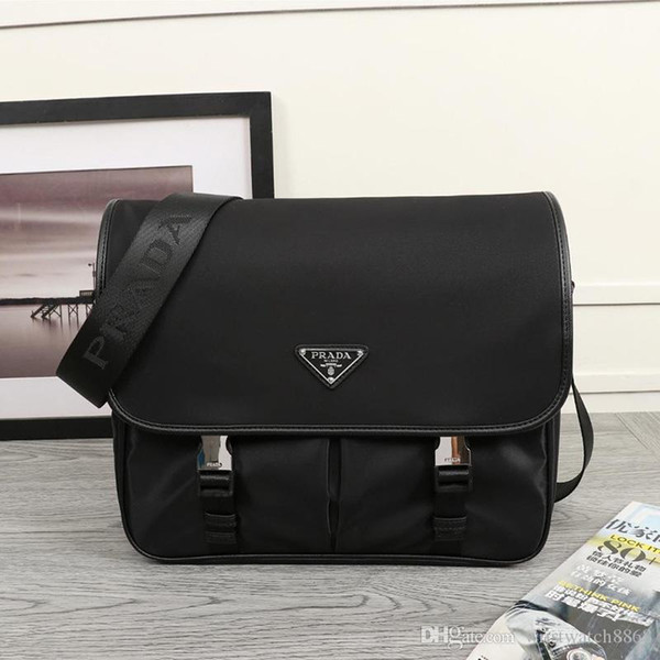 men luxury designer handbags genuine cowhide leather crossbody messenger shoulder bag purses travel bag purses chain bags 768 dxz (488219781) photo