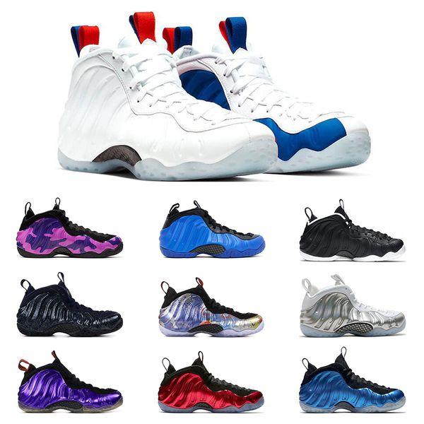 2020 Hot Sale Hardaway Мужские баскетбольные кроссовки PURPLE CAMO белые CNY TECH FLEECE USA RUST PINK METALIC RED
