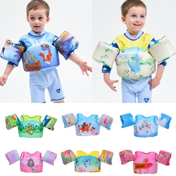 2019 sell new puddle jumper child kids baby children girl bay swimming rings life vest life jacket swim pool accessories