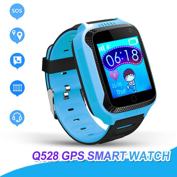 Q528 Smart Watch For Kids Watch With Remote Camera Anti-lost Children Smartwatch LBS Tracker Wrist Watches SOS Call For Android IOS (vanbo) Orange Buy goods
