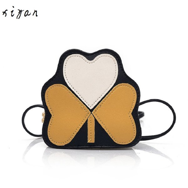 2019 girl coin purse handbag children wallet small coin box bag cute bow kid money bag baby shoulder purse bolso (496348260) photo