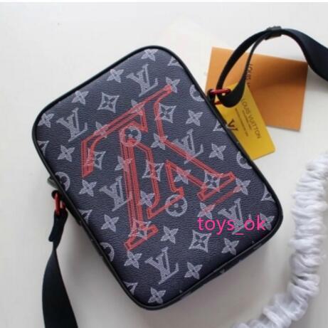 m43677 men black canva messenger crossbody purse bag hobo handbags handles boston cross body messenger shoulder bags (526145705) photo
