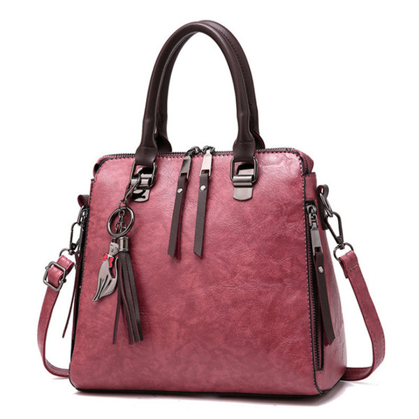 2019 crossbody bag for women ladies leather shoulder bag tote girl purses and handbag messenger cross body satchel messenger (491797326) photo