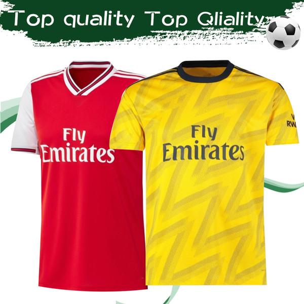 2020 gunner football club home red occer jer ey 19 20 highbury football hirt 2019 away yellow henry football uniform ize 2xl