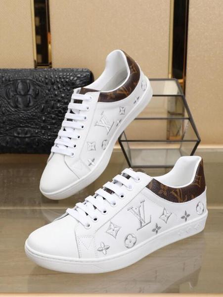 (С коробкой) Brand New мужская мода Повседневная обувь мужская белая повседневная обувь,дышащая повседневная обувь,Повседневная обувь размер: 38-44 горячей Продажи Продвижение
