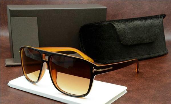 211 FT 2019 Джеймс Бонд очки Мужчины Марка Дизайнер Солнцезащитные очки Женщины Super Star Celebrity вождения солнцезащитные очки Tom для мужчин Очки 5178 фото