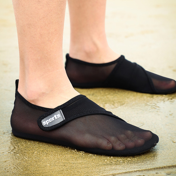 Soft Water Shoes Men Summer Breathable Barefoot Aqua Shoes Woman Big Size Beach Slippers Swimming Diving Sandals Yoga Sneakers