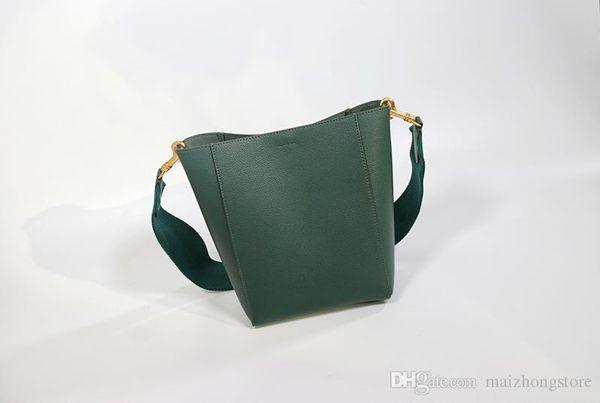 designer luxury handbag purse genuine leather celina sangle bucket women shoulder bag bucket purse ladies handbag (540723270) photo